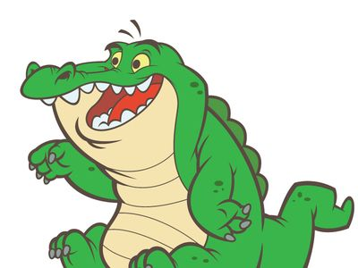 crocodile cartoon drawing at getdrawings com free for personal use