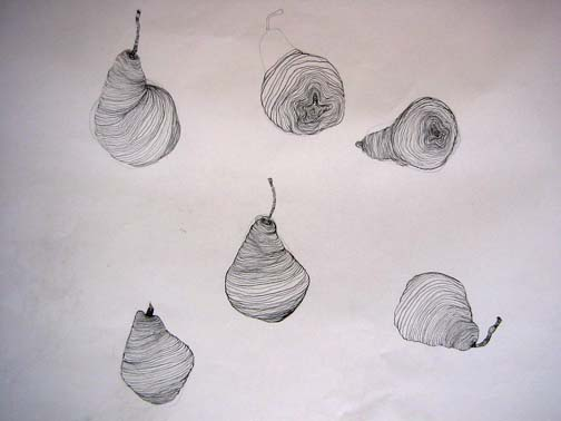 Cross contour line drawing fruit : Cross contour drawing fruit at getdrawings free for personal
