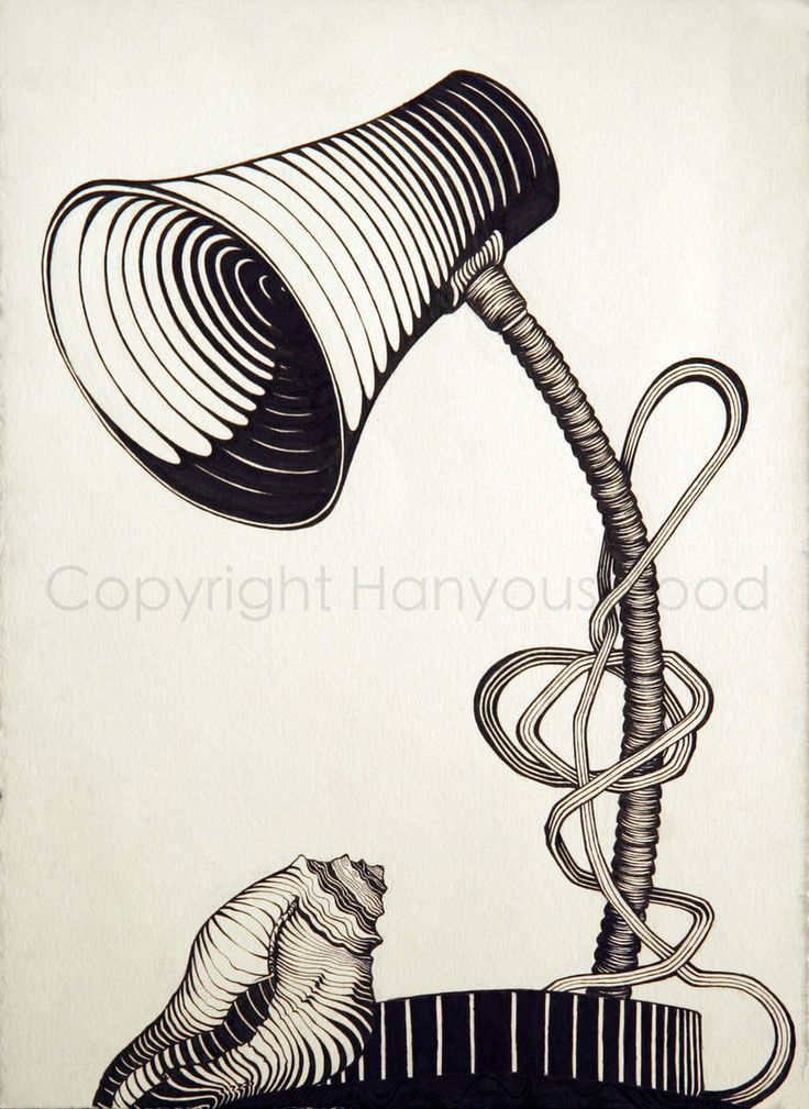 736x1009 Cross Contour Line Drawing, Pen And Ink