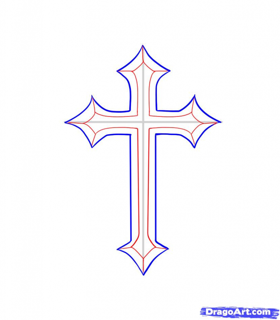 Cross Drawing At Getdrawings Com Free For Personal Use Cross Drawing Of Your Choice