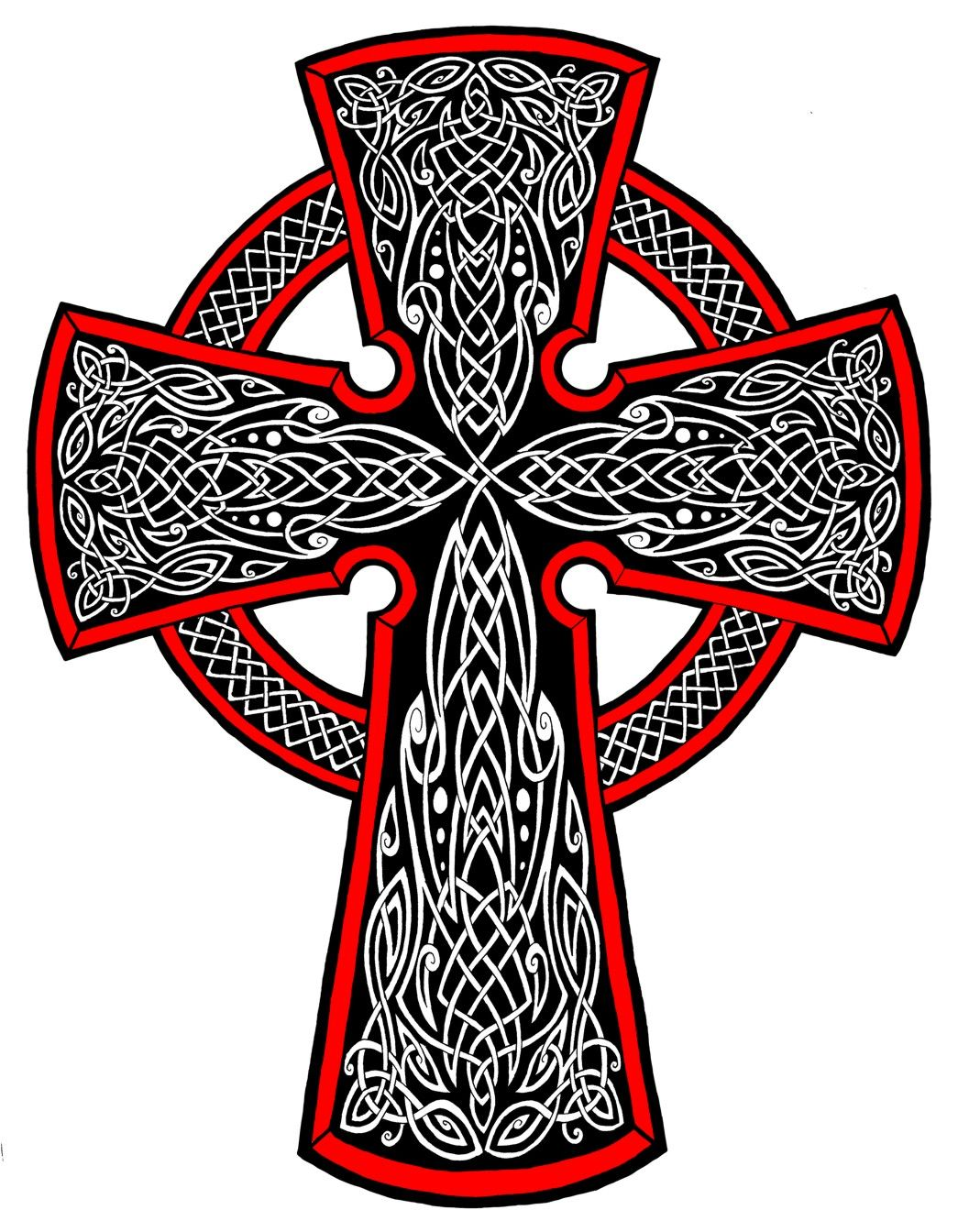 1057x1344 Celtic Cross Drawings Celtic Cross Tattoo Designs Tattoos