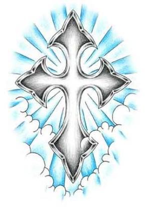 289x412 Best Tattoo Design Vine And Wood Cross Tattoo Drawing Jpg