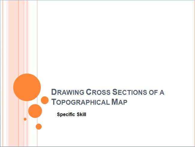 650x490 Drawing A Cross Section Of A Topographical Map