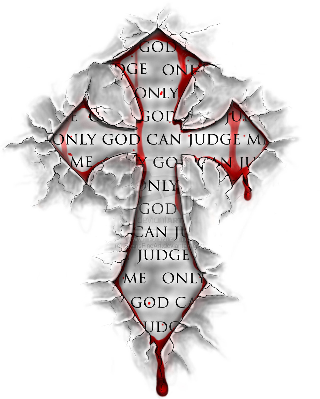 1024x1278 Bloody Cross Tattoos Designs Pictures To Pin