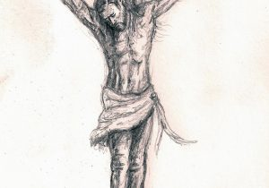 300x210 Simple Cross Sketching With Pencil