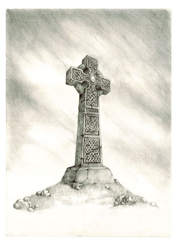 568x800 Simple Pencil Drawing Of A Celtic Cross 2b Mechanical Pencil