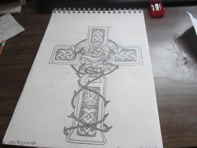 640x480 Celtic Cross By Codyejrichards