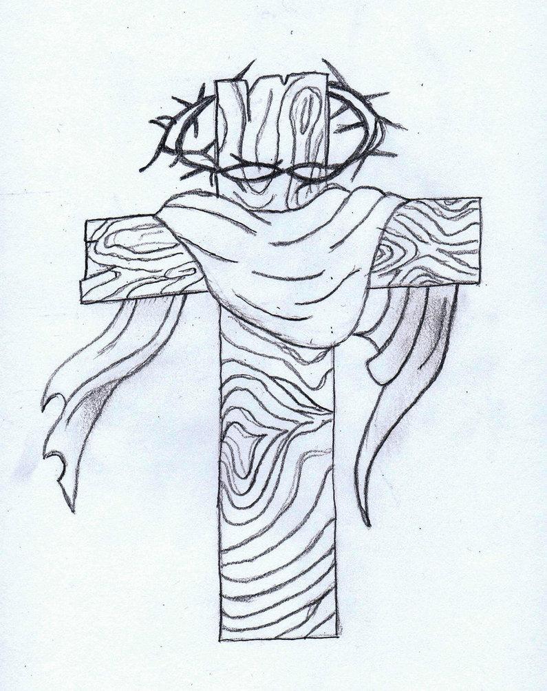 795x1004 Cross Tattoo Sketch By Mizukiyimi