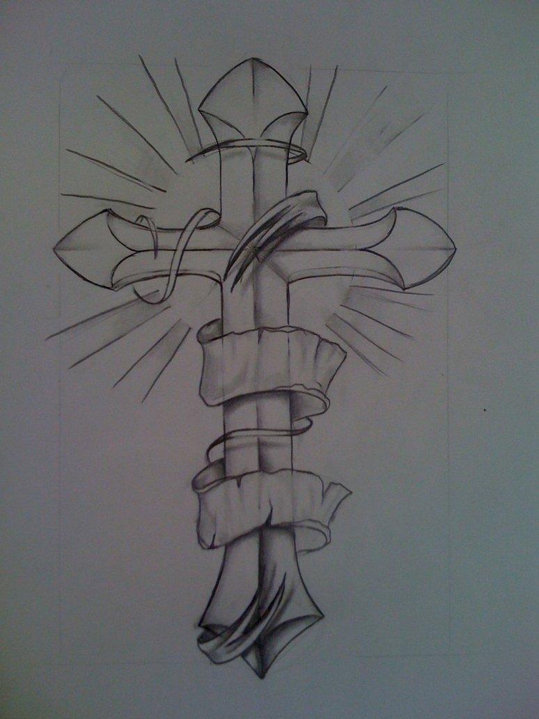 774x1032 Cross Sketch By Nsanenl