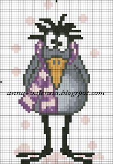 221x320 Borduurpatroon Tekening Cartoon Cross Stitch Cartoon Drawing 7