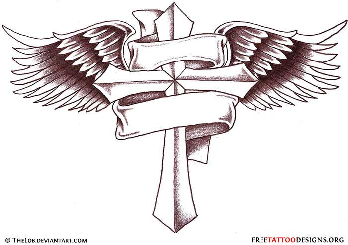 cross tattoo drawing at getdrawings com free for personal use rh getdrawings com Cross Tattoo Designs in the Middle and a Banner with Emerald Green Rip Cross with Banner Tattoo