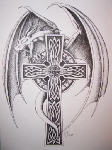 375x501 Medieval Cross Tattoo Drawing Cross Tattoos Cross