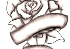 300x210 Drawings Of Crosses With Flowers Drawn Cross Wing Rose