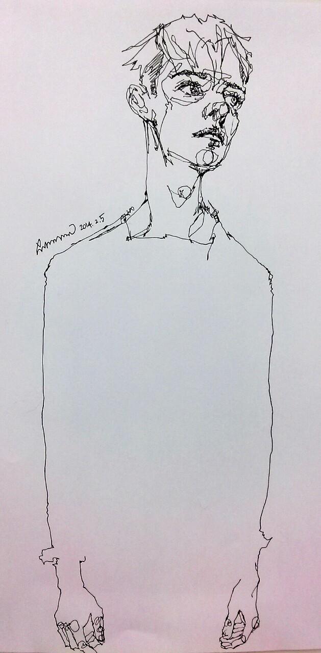 629x1280 Dear. Deer Daily Drawing By Saera Sketch Drawings