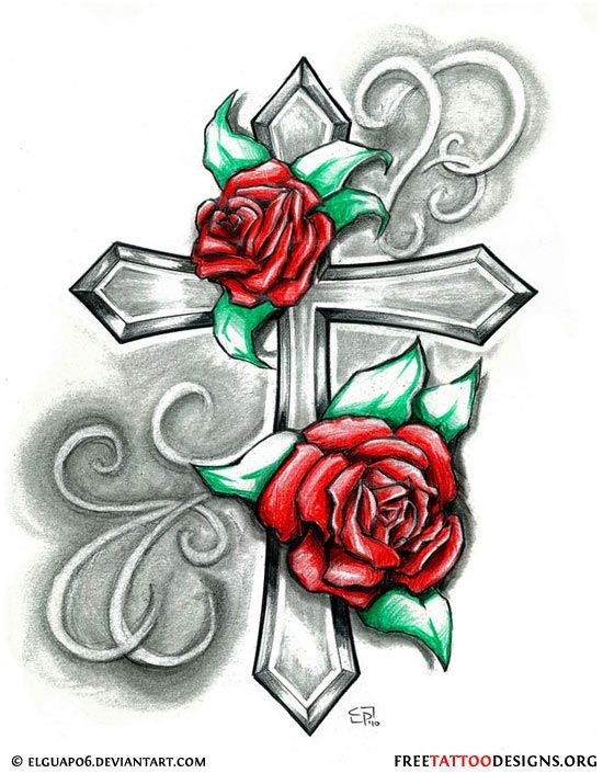 550x705 Tribal Heart And Flower Tattoo Designs Group