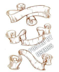 236x288 Ribbon Drawing
