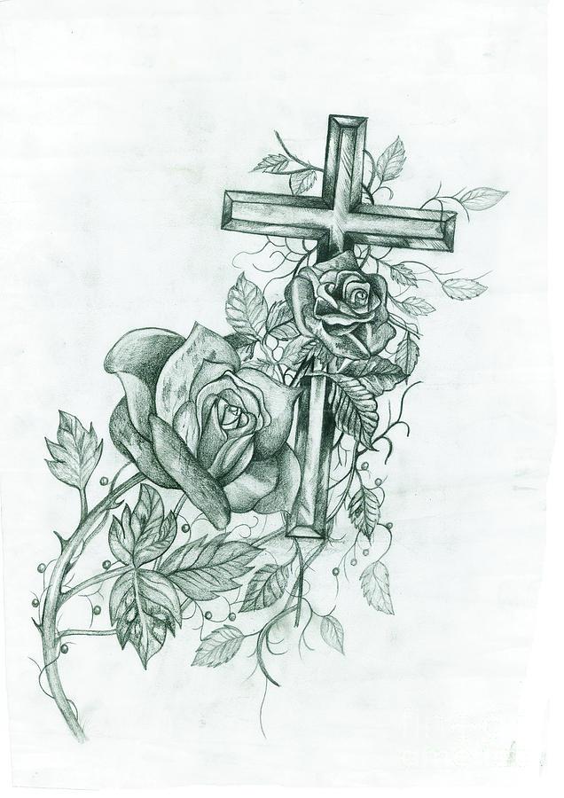 636x900 Sweet Salvation Drawing By Michael Warren