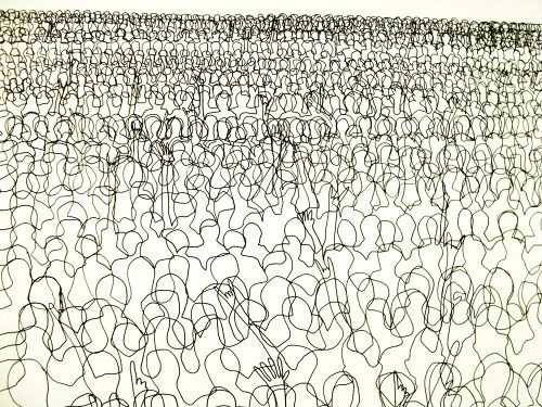 500x375 Continuous Line Drawings