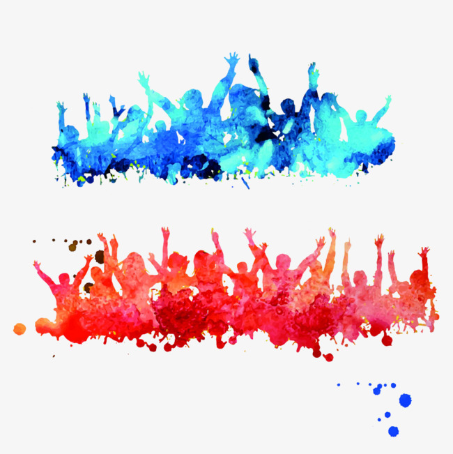 650x651 Drawing Cheering Crowd, Sketch, Character, Watercolor Png Image