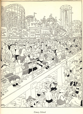 290x400 Illustration Art Drawing A Crowd