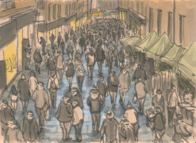 640x466 Winter Crowds Mostly Drawing