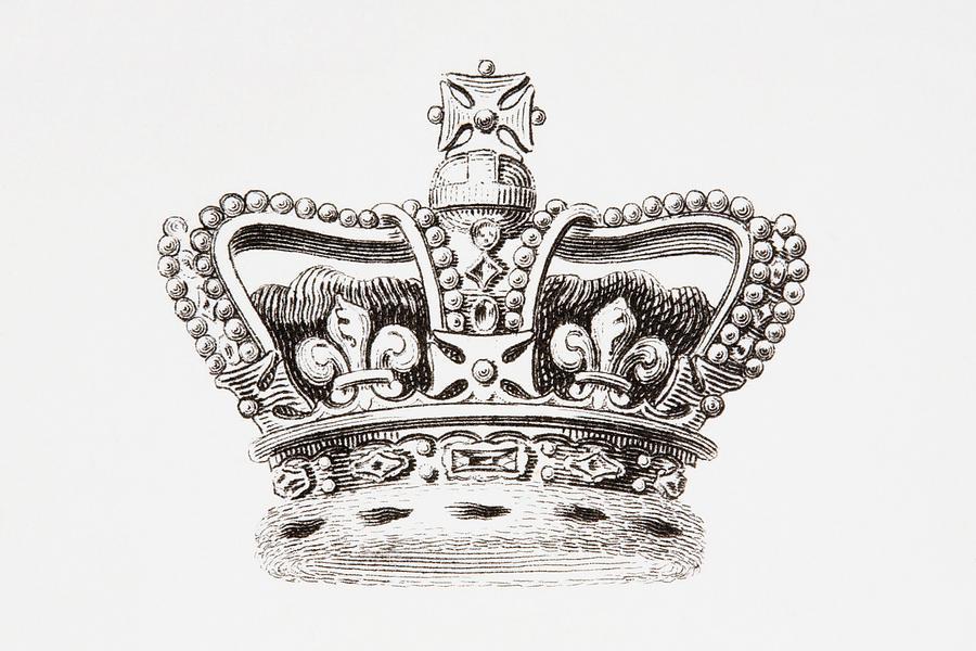 900x600 British Crown Drawings Fine Art America