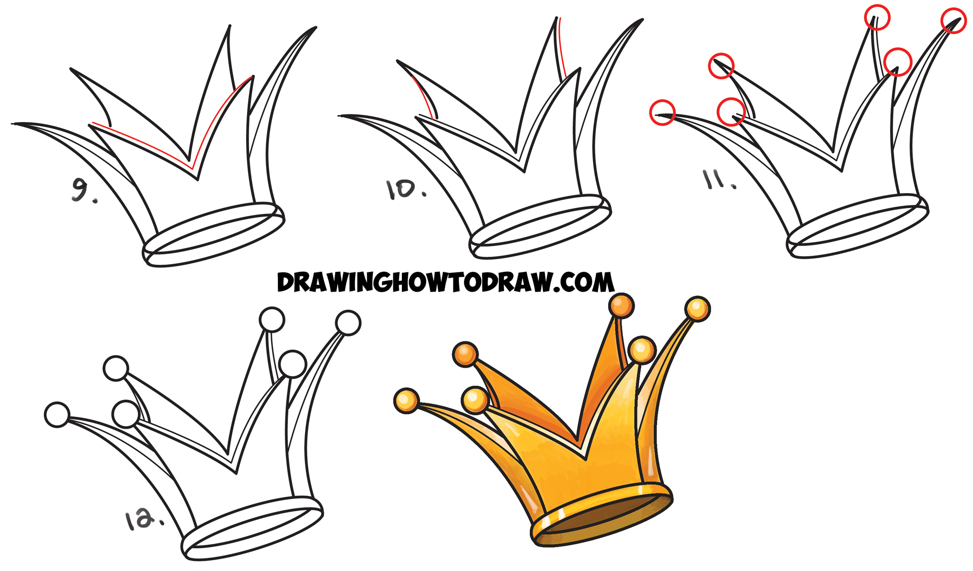 2000x1174 Graffiti Crown Drawing How To Draw A Crown