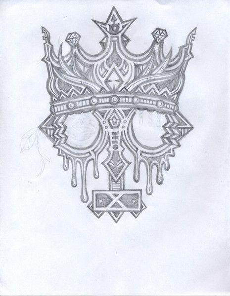 465x600 Kings Crown Drawing