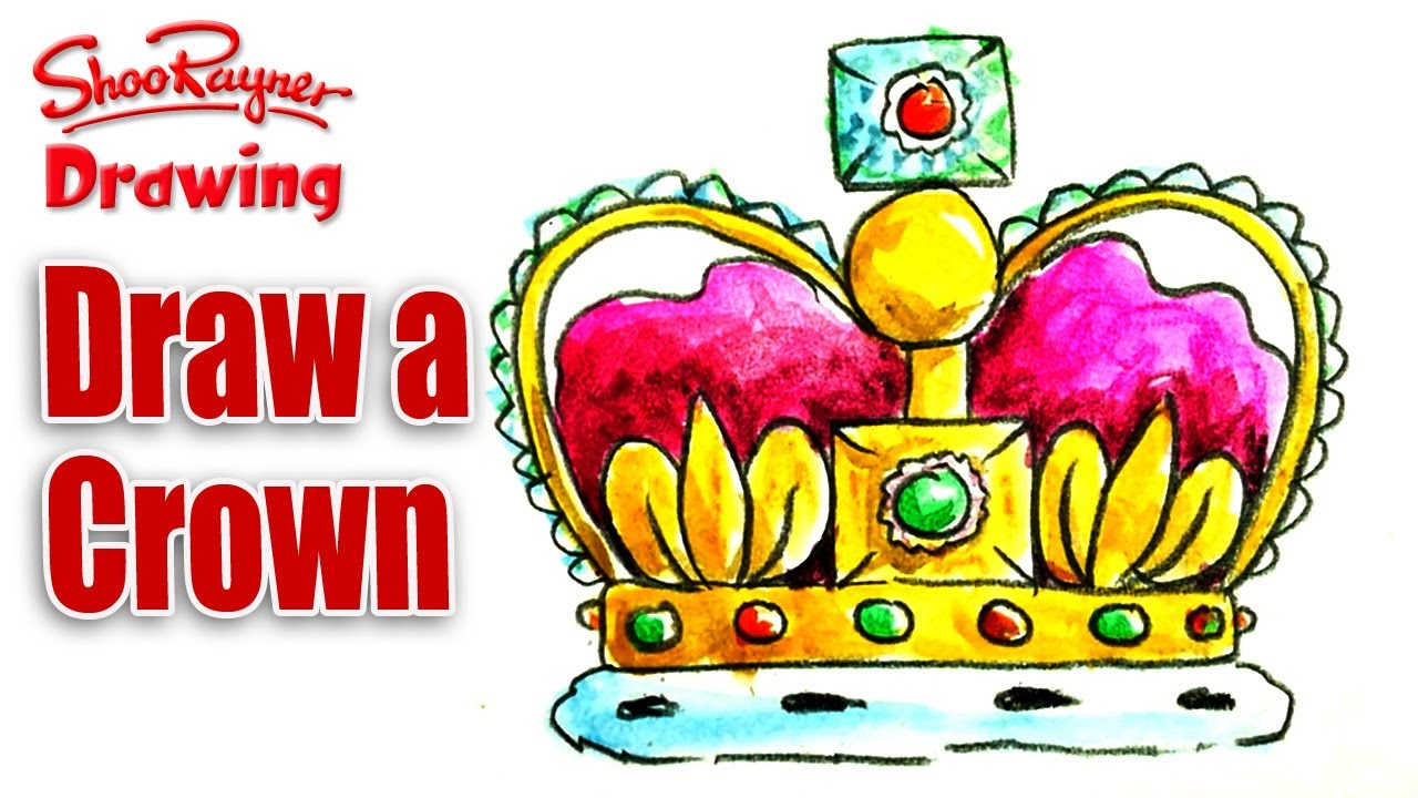 1280x720 How To Draw A Crown