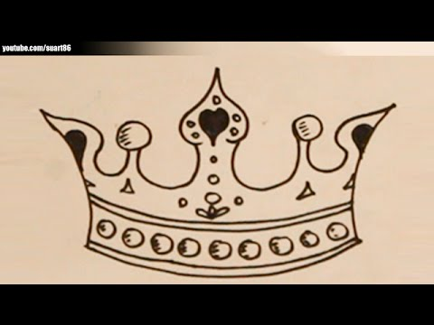 480x360 How To Draw A Princess Crown