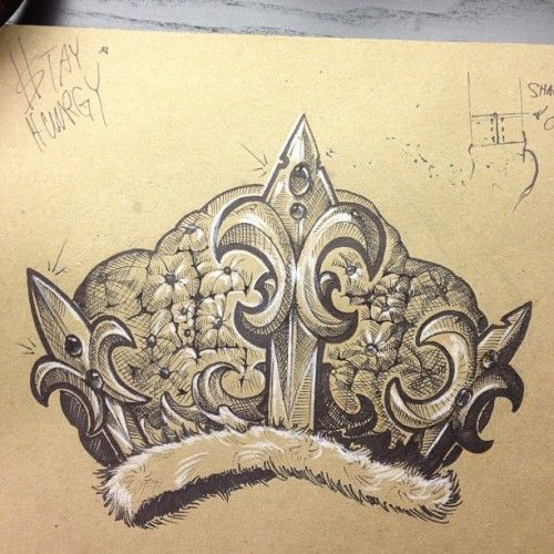 500x500 41 Best Crown Drawings Tattoos Images On Crown Drawing