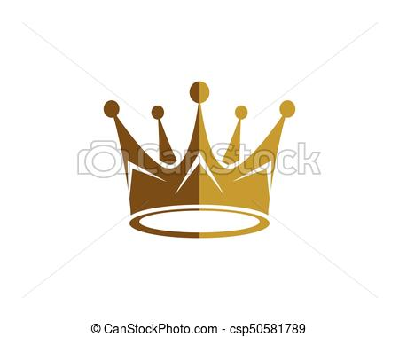 450x380 Crown Logo Template Vector Illustration Vector