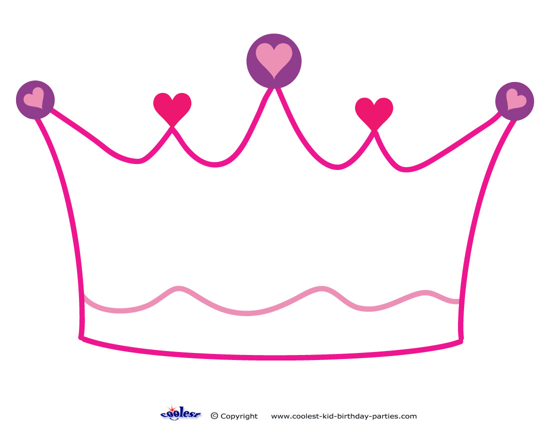 princess crowns template Crown Drawing Template at GetDrawings.com | Free for personal use ...