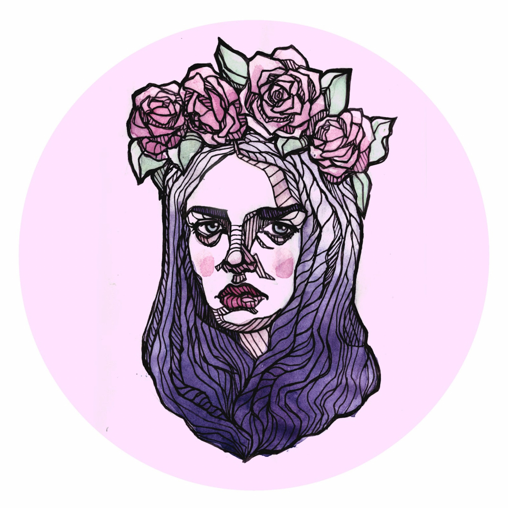 1024x1024 Crown Drawing Tumblr Flower Crown Drawing Tumblr How To Draw