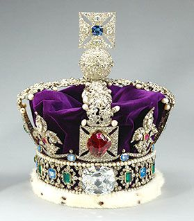 279x319 Crown Jewels Imperial State Crown, Made For King George Vi,