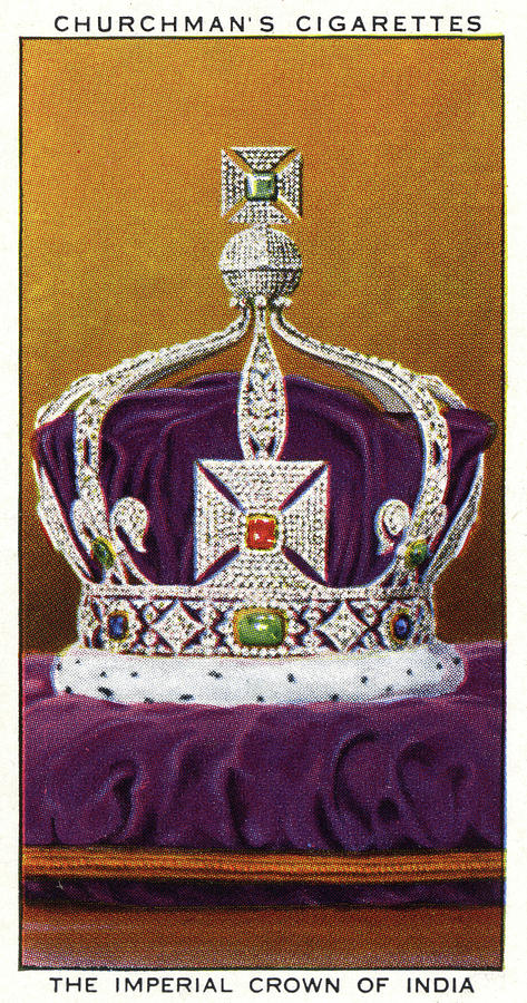 473x900 Crown Jewels Of England The Imperial Drawing By Mary Evans Picture
