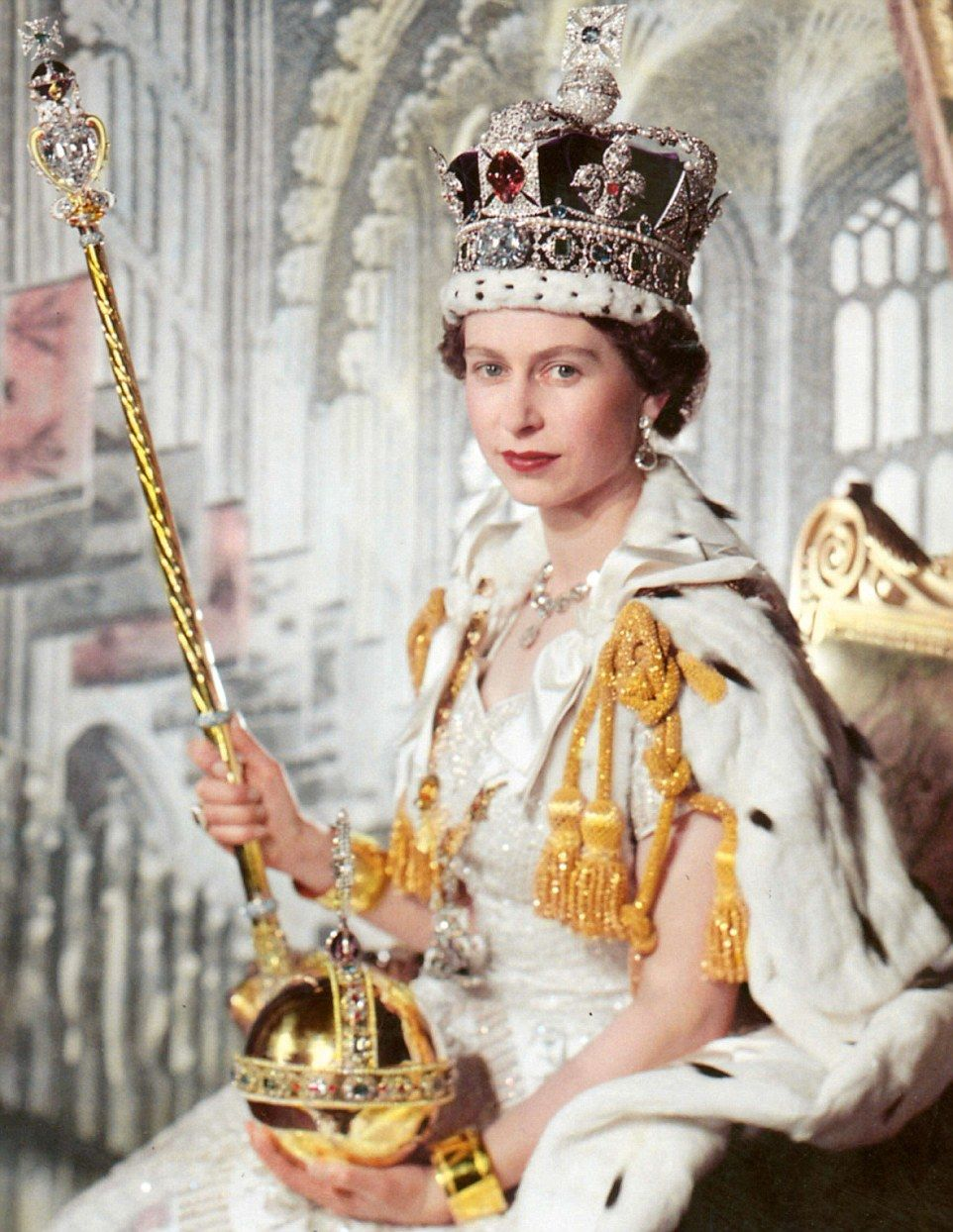 962x1244 How The Queen's Brooches And Earrings Have A Glittering History