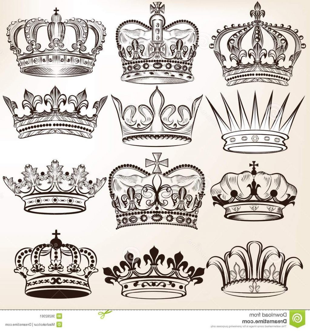 crown tattoo drawing at getdrawingscom free for