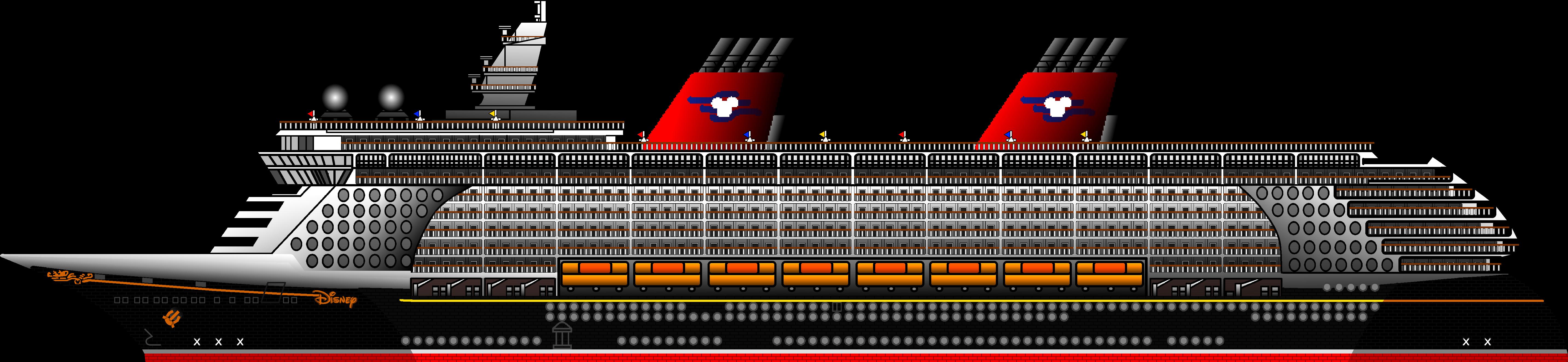 5733x1325 Fantasy Cruise Ship By Ryanh1984