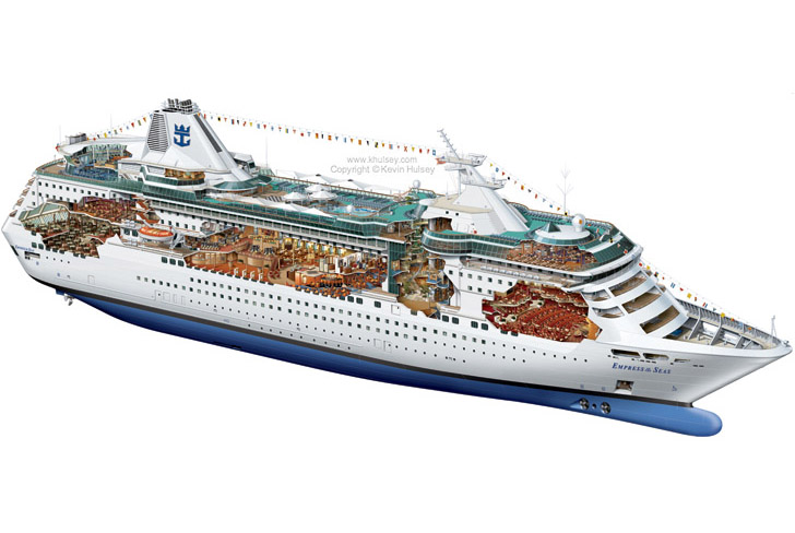 728x488 Ship Vector Art.