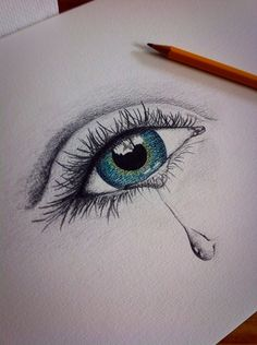 236x316 Crying Eye Drawing Breathtaking Art Crying Eyes