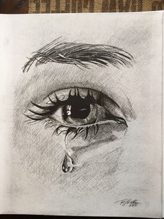 236x314 Crying Eye Sketch Drawing Crying Eyes, Sketches