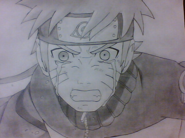 640x480 Naruto Crying By Mathew Jp