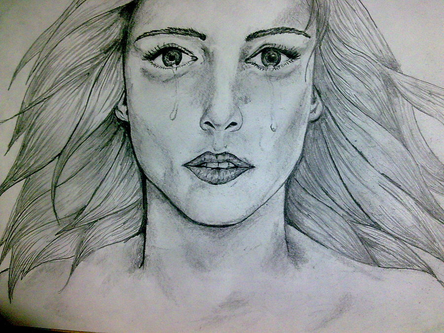 crying face drawing at getdrawings com free for personal use