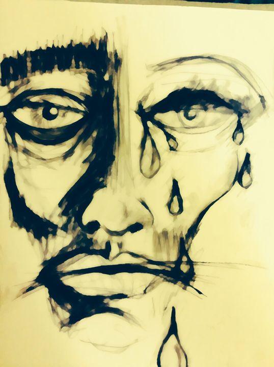 538x720 Crying Man