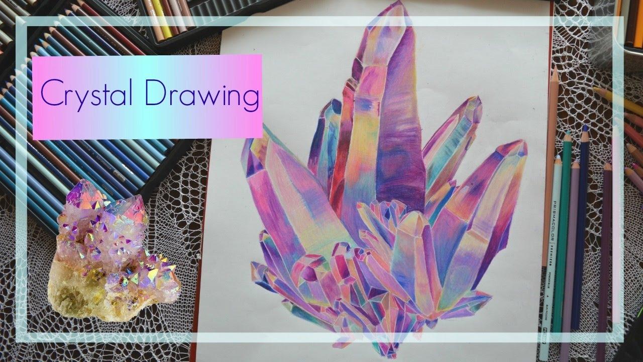 1280x720 Crystal Drawing
