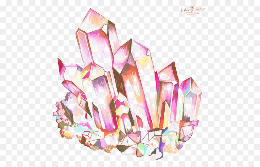 900x580 Geode Crystal Drawing Quartz Amethyst