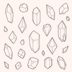 235x235 crystal illustration geometric