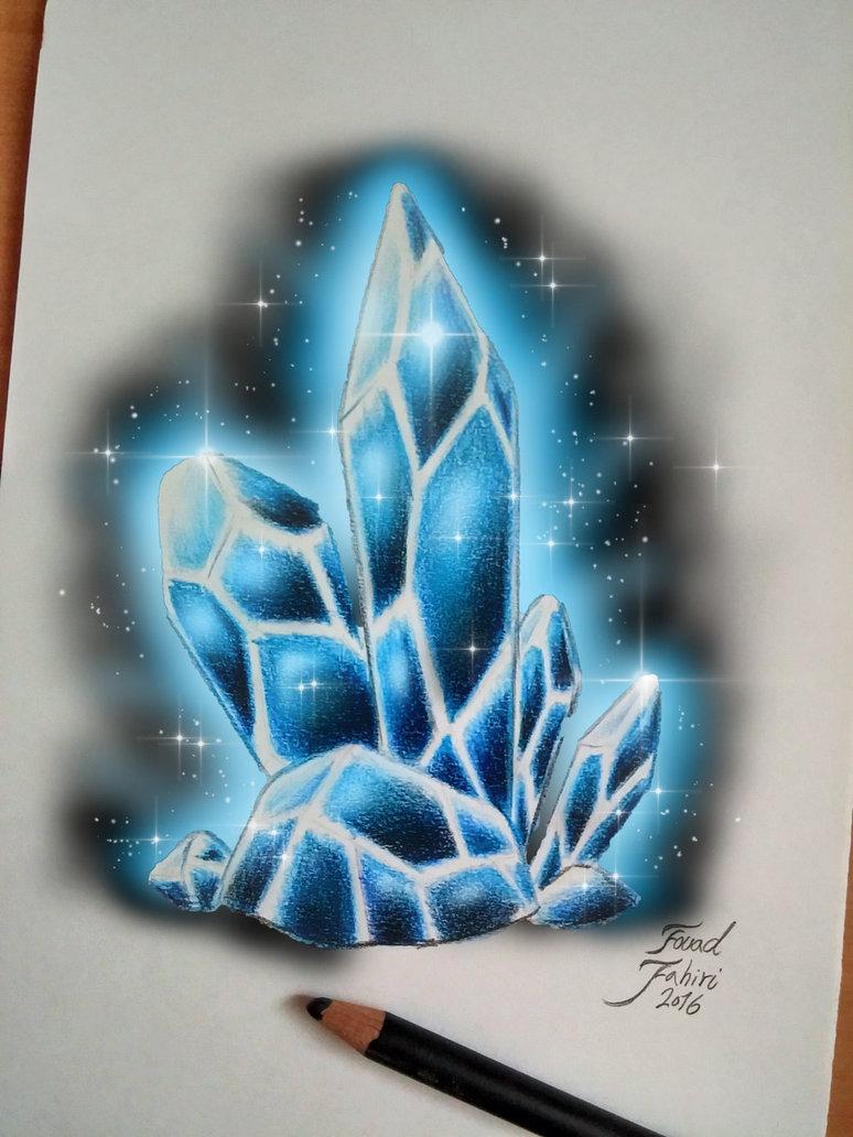 774x1032 Digital Art Editing My Crystal Drawing By Fouadzahiri