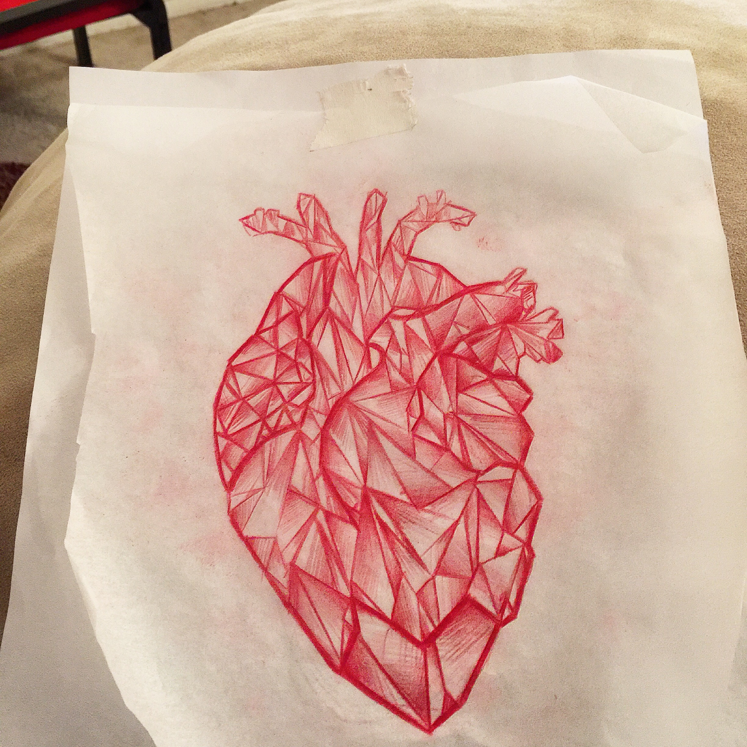 Crystal Heart Drawing At Getdrawings Free For Personal Use